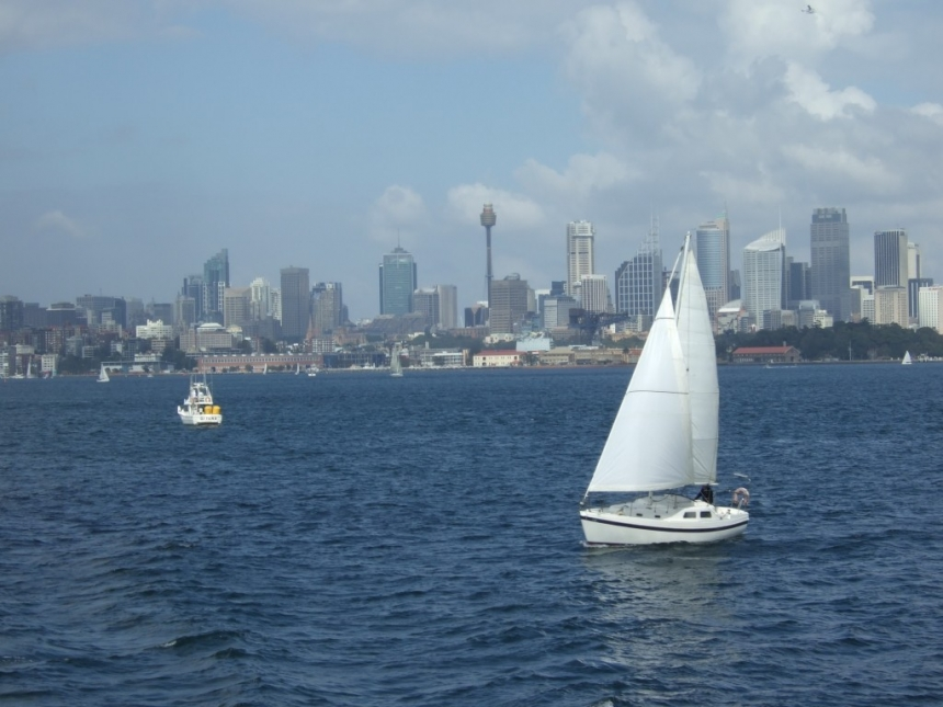 Stunning views of Sydney Harbour